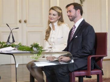 Принц Гийом и Стефания де Ланнуа