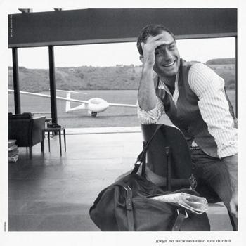 Джуд Ло в рекламной кампании Dunhill