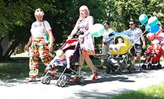 Дефиле колясок – 2015 в Барнауле: как это было