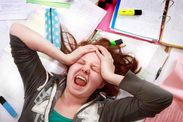 Волнение перед экзаменом