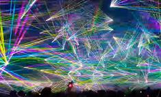 выглядит мировой рекорд количеству лазеров танцполе prodigy видео