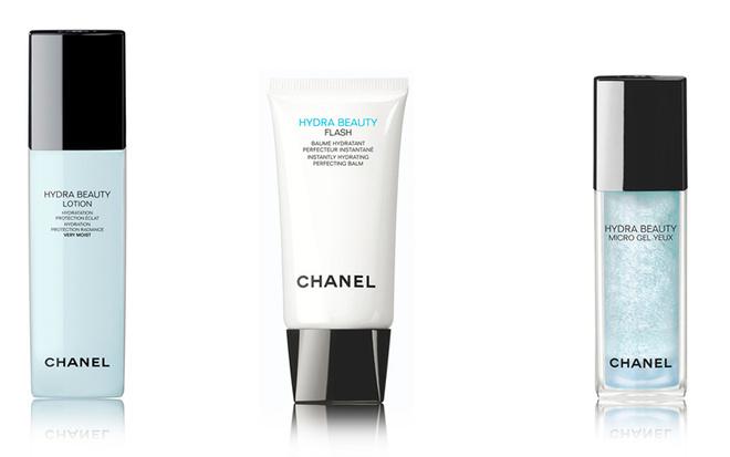Chanel, увлажняющая линейка HYDRA BEAUTY