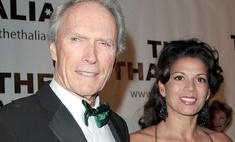 Клинт Иствуд бросил жену в два раза моложе себя