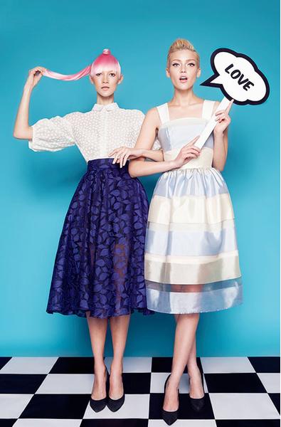 Libellulas, платья российских дизайнеров