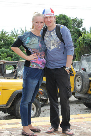 Вячеслав Мясников с женой Надеждой, фото