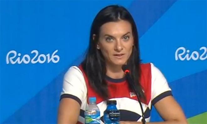 Елена Исинбаева сделала сенсационное заявление в Рио на Олимпиаде