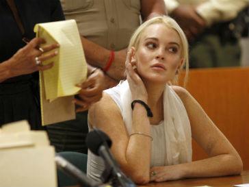 Линдсей Лохан (Lindsay Lohan) снова упекли за решетку