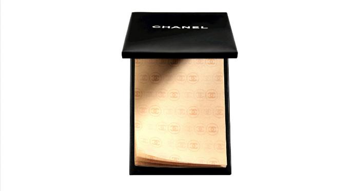 Матирующие салфетки от Chanel