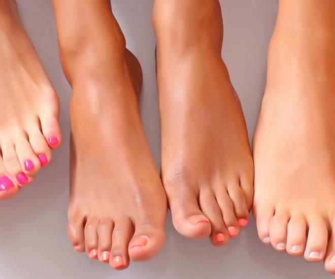 Сексуальные пальчики ног
