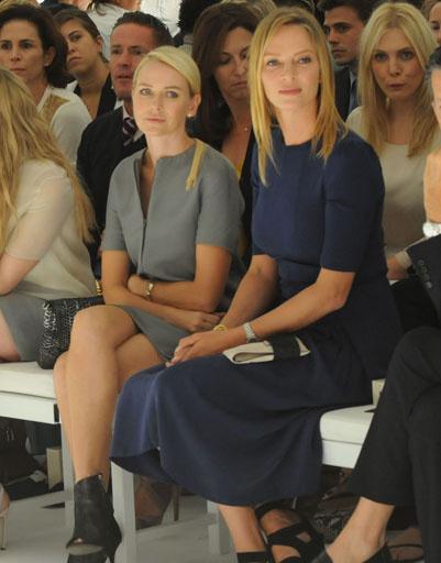 Наоми Уоттс (Naomi Watts) и Ума Турман (Uma Thurman)