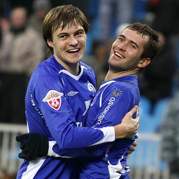 Александр Кержаков (справа) – один из лучших бомбардиров нынешнего чемпионата.
