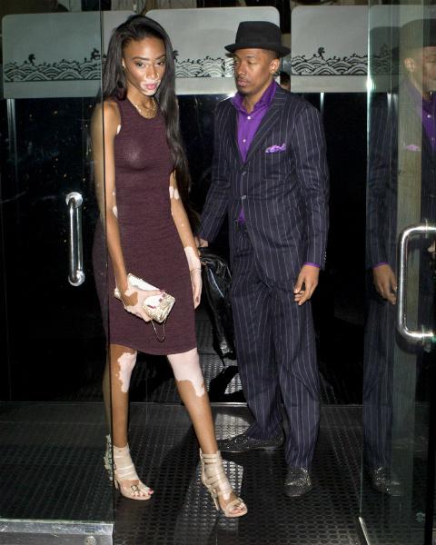 Экс-супруг Мэрайи Кэри Ник Кэннон встречается с пятнистой моделью Винни Харлоу