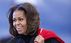 Мишель Обама сделала классическую укладку первой леди