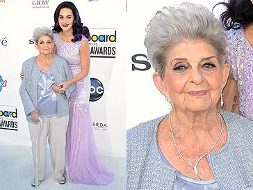 Кэти Перри и ее бабушка