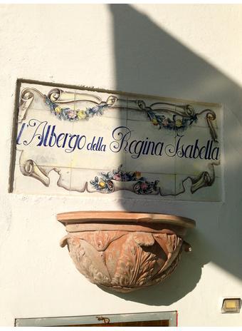 Отель Regina Isabella, Искья