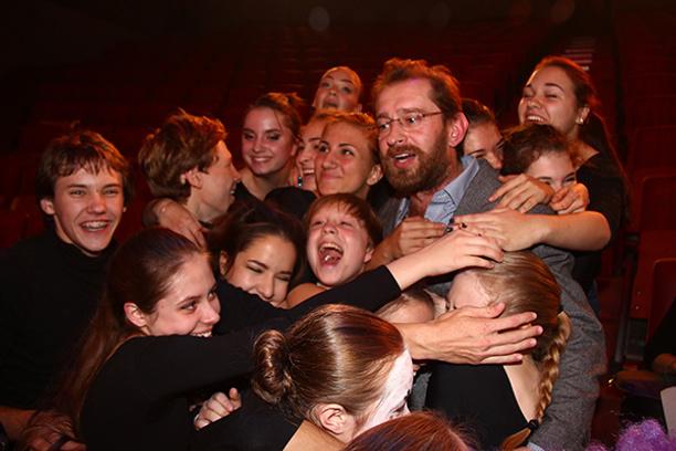 Константин с юными талантами