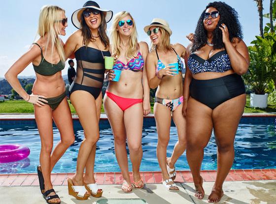 Рекламная кампания коллекции купальников Targer