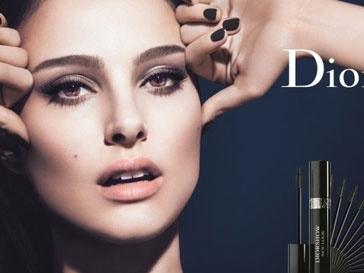 Натали Портман в рекламе Dior Show New Look