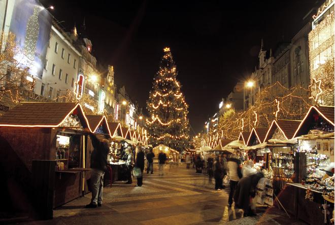Прага из Москвы на Новый год