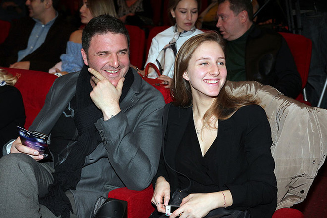 Максим и Полина Виторган фото