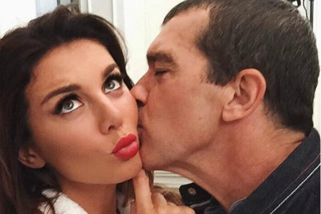 Антонио Бандерас с Анной Седоковой фото