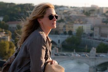 Главную героиню в фильме сыграла Джулия Робертс, которая отправилась по маршруту «трех И».