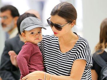 Миранда Керр (Miranda Kerr) с сыном Флинном