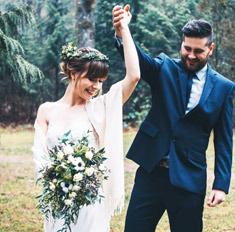 Осенняя свадьба: главные правила образа невесты