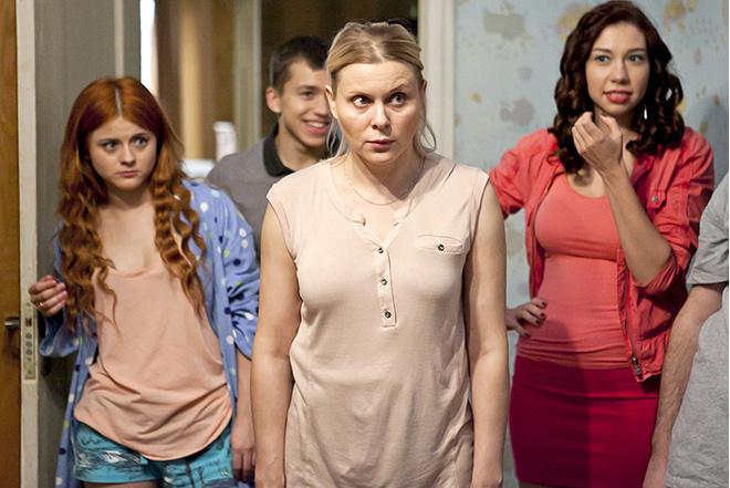Яна Троянова в сериале Ольга: фото