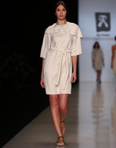 Показ коллекции Ольги Бровкиной осень-зима 2013/14 на Mercedes-Benz Fashion Week Russia