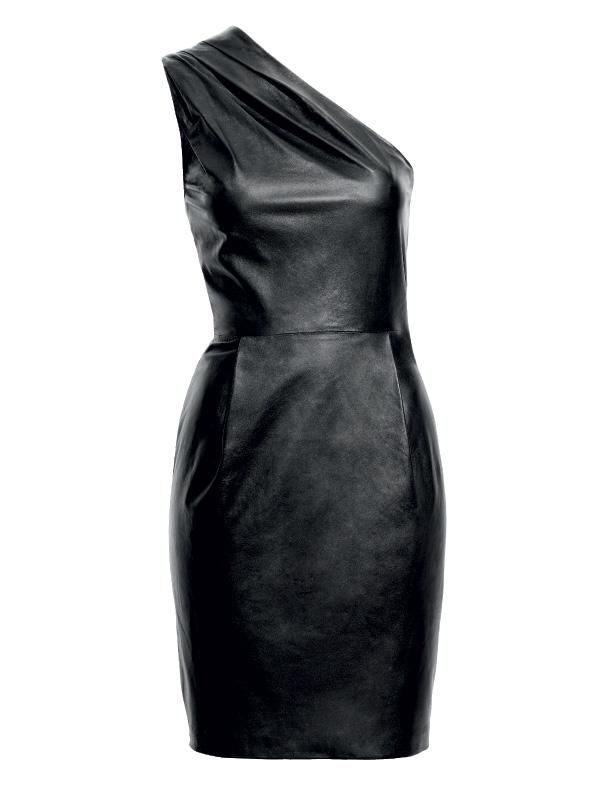 Кожаное платье своими руками