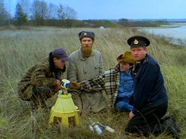 Кадр из фильма «Особенности национальной охоты»