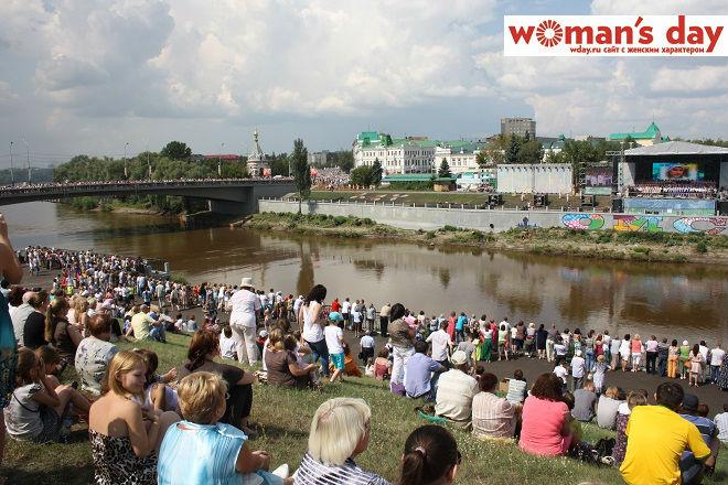 Омск, День города