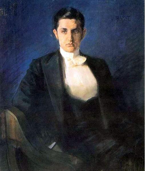 Леон Бакст. Портрет Дмитрия Философова, 1897 г.