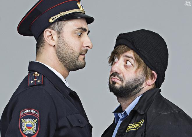 Бородачу приходится постоянно общаться с полицейскими