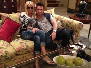 Лера Кудрявцева и Сергей Лазарев устроили свидание в Париже.
