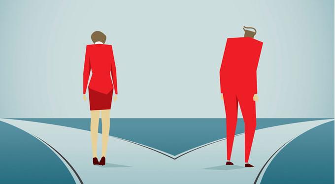 Почему несчастливые пары не разводятся