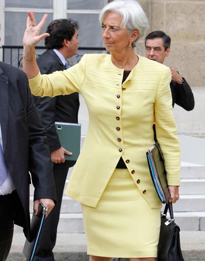 Кристина Лагард знает толк в моде