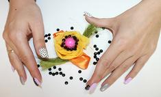 Сама себе дизайнер: как сделать яркую летнюю брошь своими руками