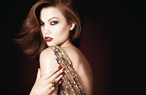 Рекламная кампания рождественской коллекции макияжа Dior, зима-2012