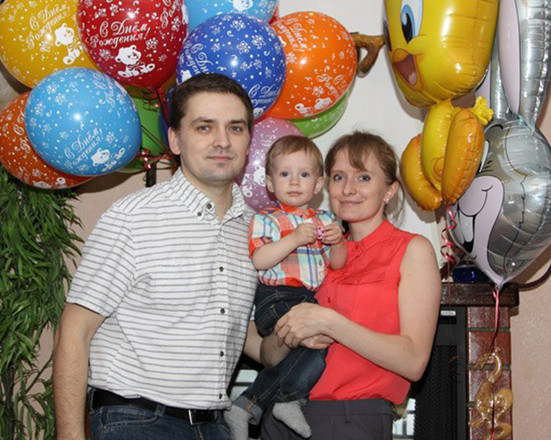 Екатерина Хворостова, семья