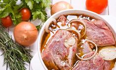 Варианты маринования свинины