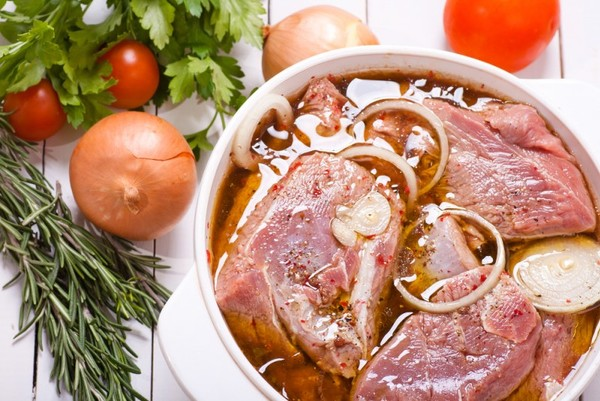 Мариновка свинины