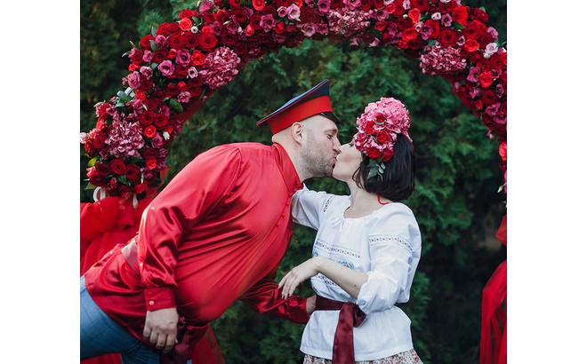 Необычные свадьбы: идеи, фото