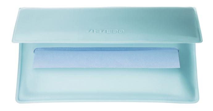 Матирующие салфетки от Shiseido