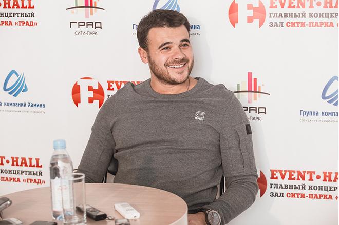 Эмин Агаларов в Воронеже