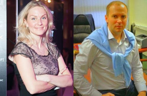 Екатерина Гордон и Сергей Жорин