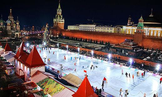 Главный каток на Красной площади
