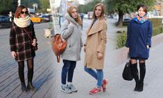 Девушки в пальто: фото и советы стилиста