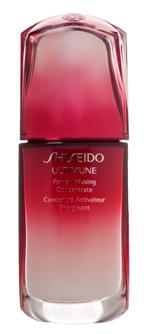 Концентрат Ultimune, Shiseido. Он подходит для всех возрастов и типов кожи. Используется утром и вечером в сочетании с любым кремом в качестве пре-ухода.